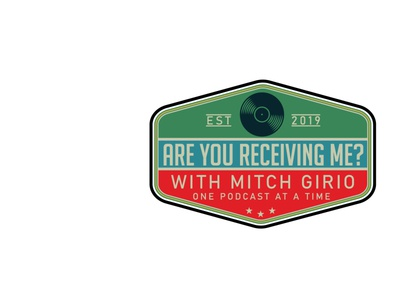 Are You Receiving Me vector vintage logo design branding illustration badge retro badge logo design illustrator