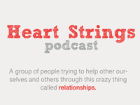 Heart Strings Podcast Landing Page