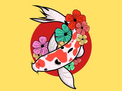 koi ai inspiration sun japan fish koi