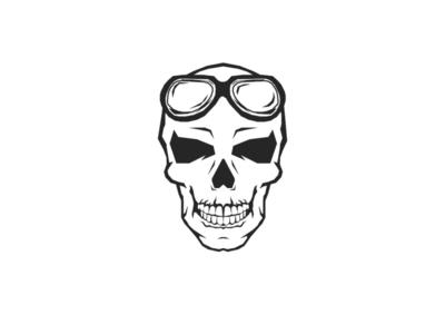 Skull logo art inspiration ai illustration design skull