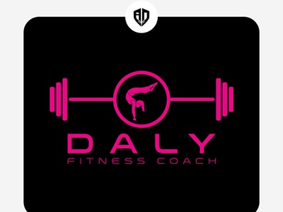 Logo Design Fitness Trainer creative  design banner art ui typography mobile app branding logo addy instagram banner design vector graphic  design graphic creative design love trainer fitness logodesign