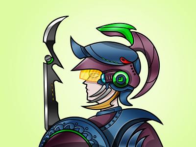 Westgrid Regular Warrior characterdesign