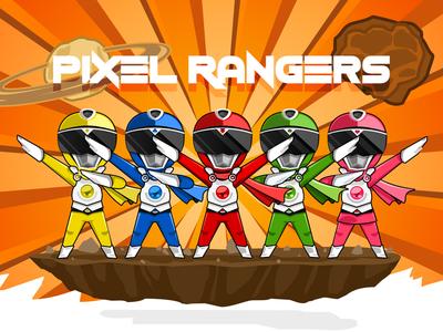 Pixel Ranger power ranger ranger tokusatsu super sentai