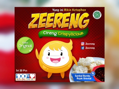 Indonesian Traditional Food Packaging food packaging product packaging label