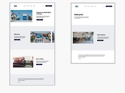 Kajzer figma clean design clean ui uiux ui design web website design