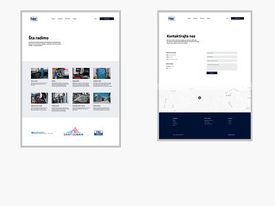 Kajzer ui figma branding web ux website clean design clean elegant design design