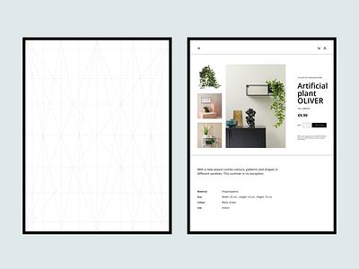 Shop redesign whitespace tablet design designer focus web ux website figma elegant design clean design clean design