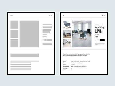 Shop redesign beauty tablet ux ui figma elegant design clean design clean design