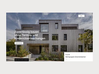 Bauleitung uxdesign ux uidesign uiux clean design minimalist
