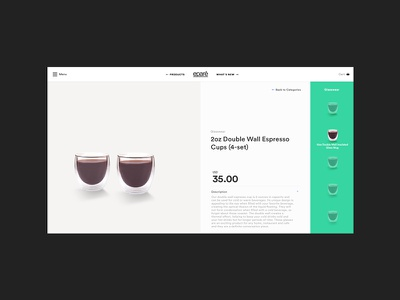 Product Detail Page (e-commerce) product detail product gallery product selector ecommerce ui ux