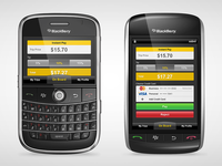 Gettaxi BlackBerry Application