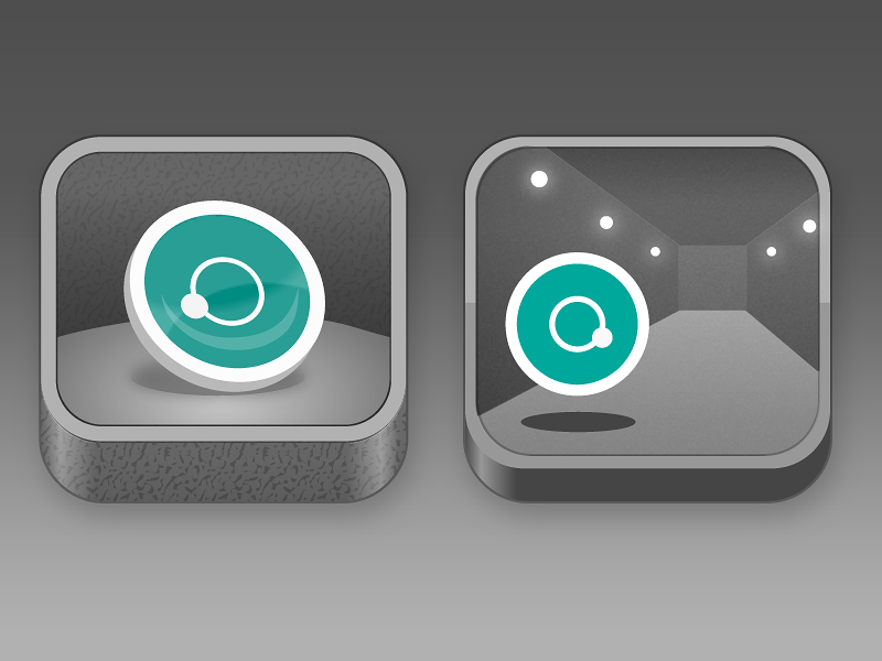 Augmented reality app icons by Matnas Interactive on Dribbble