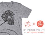 """""""But For The Grace"""" Shirt @ Cotton Bureau"""