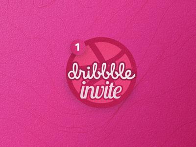 Dribble Invite 3d lines pink dribbble invite invite dribbble
