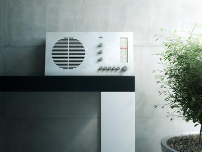 3D Braun Radio