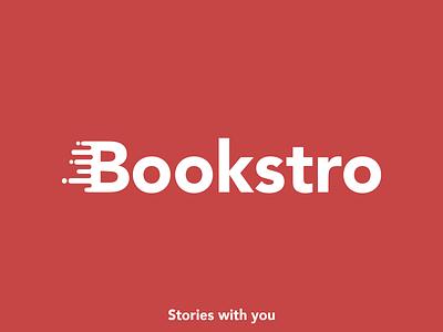 Bookstro Logo design cover design branding logo bookstro.com stories with you bookstro