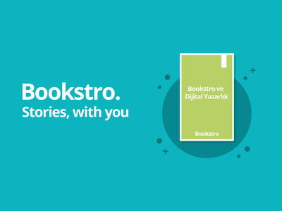 Bookstro - Stories, with you cover design branding design