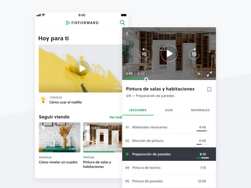Fixforward — Mobile App product design design system design ui ux ios mobile app product