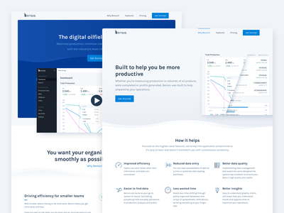 Bensis — Marketing Site design system design iconography icon ui ux website web product design app product