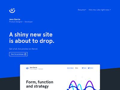 Portfolio — Teaser front-end development front-end product design design system design ui ux website web portfolio