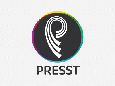 Presst logo logotype identity proposal