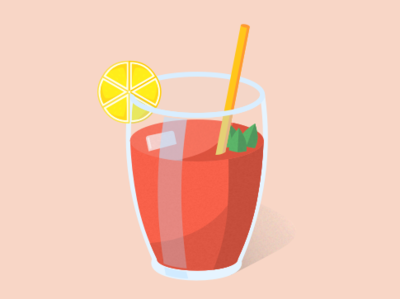 Red Orange Drink