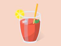 Red Orange Drink