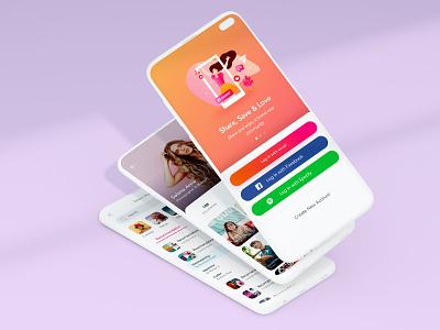 Video App For iOS design mobile experience user music profile login web ios illustration card video ux app ui
