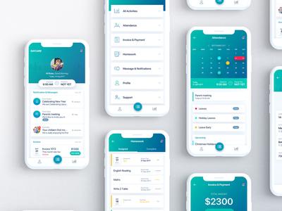 Daycare App Design | Case Study