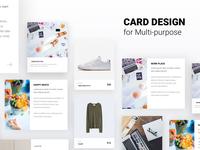 Freebie Card Design for Multipurpose v1