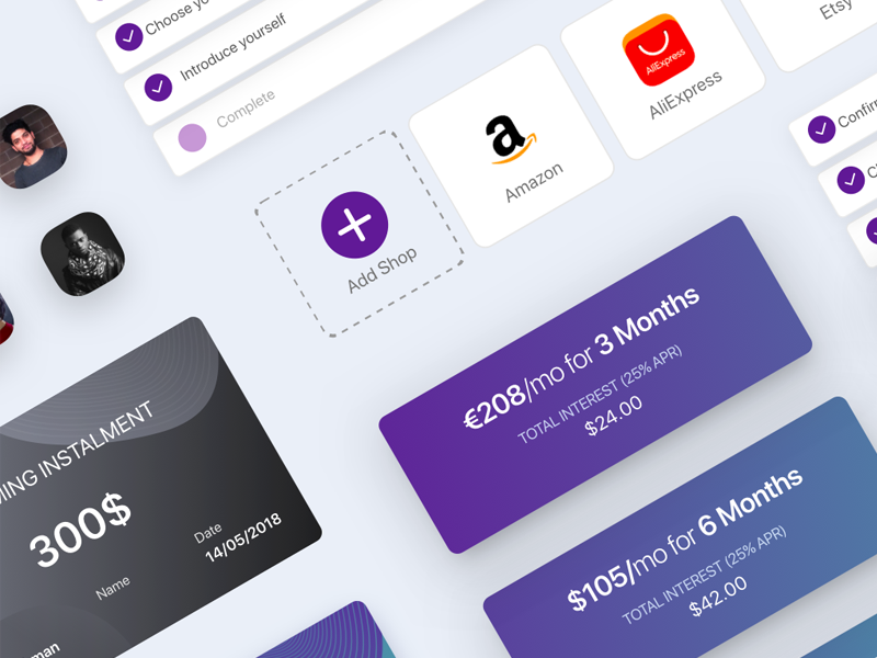 Design UI Components for app finance bank component design identity system guideline branding guide branding ios ux ui