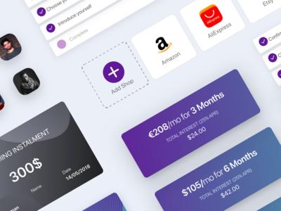 Design UI Components for app