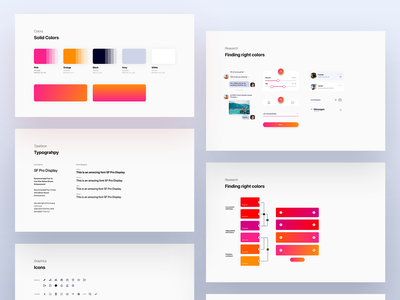 Aboard branding for iPhonex app clean minimal white sketch typography color gradient travel blog dating meetup iphonex iphone ios app styleguides guidelines branding