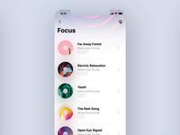 Meditation Music App (sketch freebie)