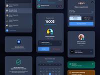 Real Estate - Dark UI Dashboard