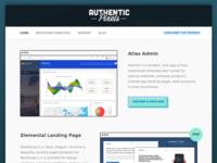 Authentic Pixels Website