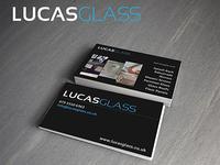 Lucas Glass Logo & Business Cards