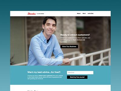 Stormlux V3 marketing shopify wordpress freelance red stormlux