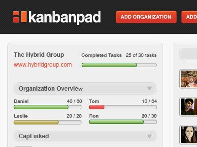 Kanbanpad Dashboard