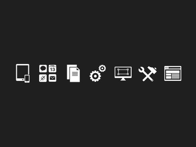 Service Icons stormlux icons services
