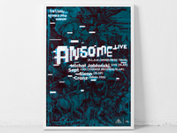 Ansome gig poster
