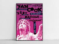 Yan Cook gig poster