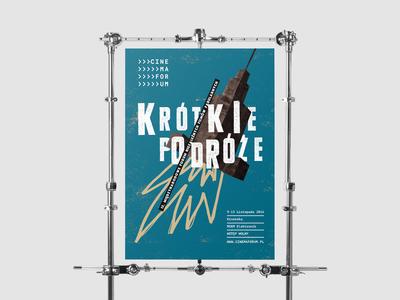 15 International Short Film Festival - Cinemaforum - poster