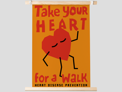 Take your heart for a walk.