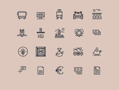 Muncipial icons
