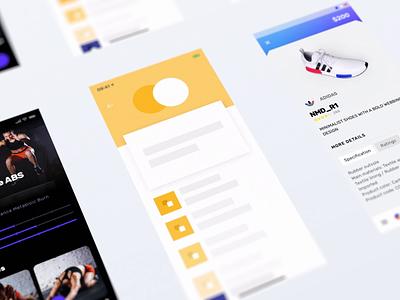 Showreel ux uiux uidesign product design motion mobile android ios interaction design interaction ui app showreel animation