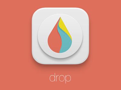 Drop Ios icon logo app application ios