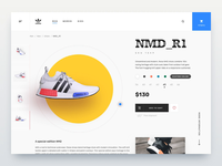 Sneakers shop - motion design