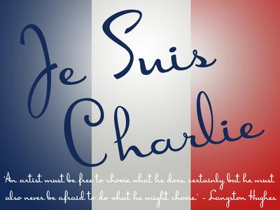 Je Suis Charlie jesuischarlie rip courage