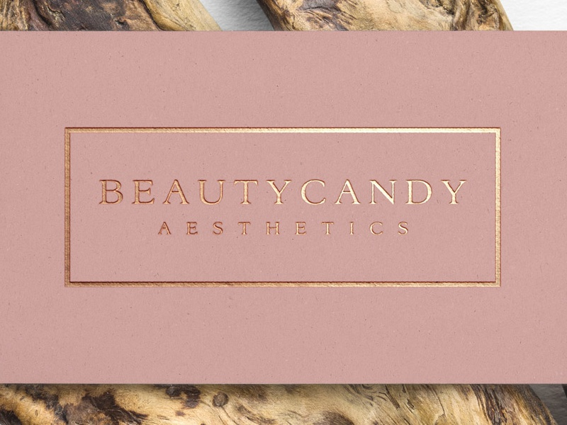 Beauty Candy Aesthetics - Business Cards by Lara Russo - Dribbble